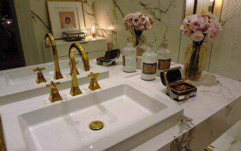 Meble łazienkowe w aranżacji retro!